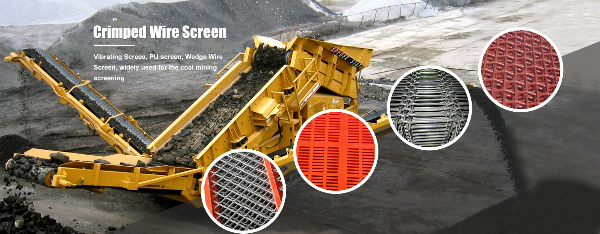 wire mesh for coal mining
